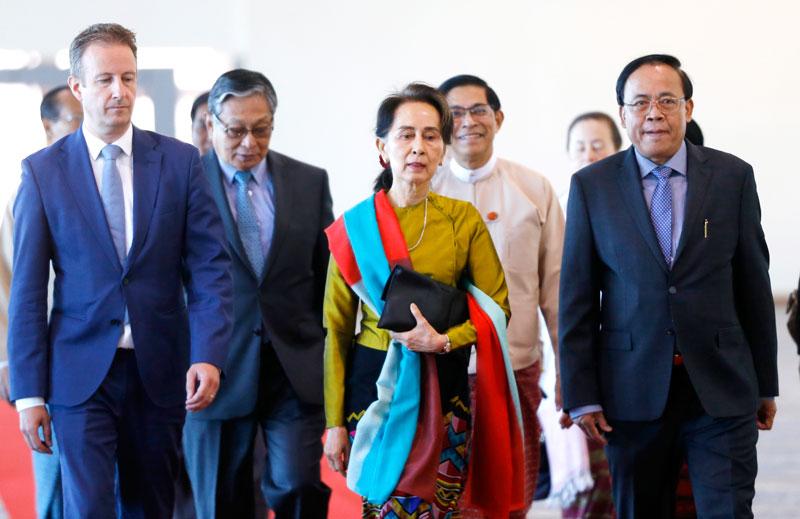เดอะเลดี้'อองซานซูจี' นำทัพเมียนมาสู้คดีศาลโลก